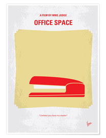 Premium-Poster Office Space