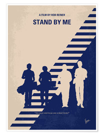 Premium-Poster Stand by me