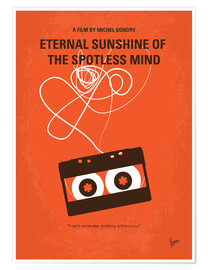 Poster  No384 My Eternal Sunshine of the Spotless Mind minimal movie poster - chungkong