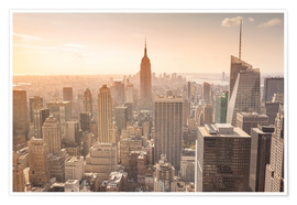 Premium-Poster  Empire State Building in New York