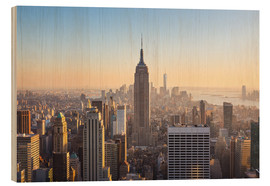 Holzbild  Manhattan?Skyline