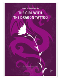 Premium-Poster The Girl With The Dragon Tattoo