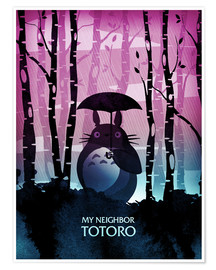 Premium-Poster My Neighbor Totoro