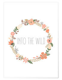 Premium-Poster Into The Wild - In die Wildnis
