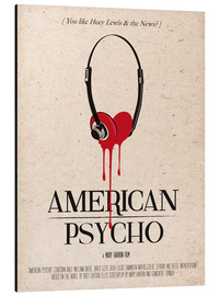 Alu-Dibond  alternative american psycho retro art - 2ToastDesign