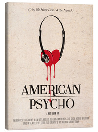 Leinwandbild  alternative american psycho retro art - 2ToastDesign
