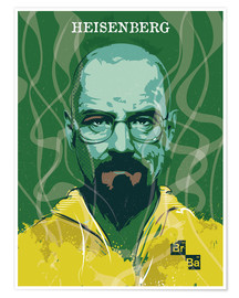 Premium-Poster alternative heisenberg breaking bad design art