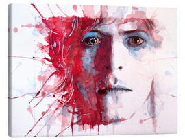 Leinwandbild  The Prettiest Star : David Bowie - Paul Lovering Arts