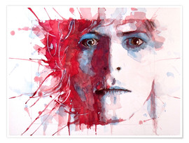 Poster  The Prettiest Star : David Bowie - Paul Paul Lovering Arts