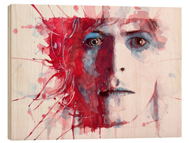 Holzbild  The Prettiest Star : David Bowie - Paul Paul Lovering Arts