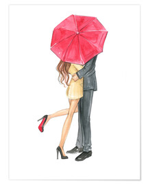 Premium-Poster  Love is in the air - Rongrong DeVoe