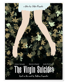 Premium-Poster The virgin suicides movie inspired art