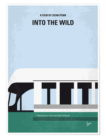 Poster  Into the Wild minimal movie poster - chungkong