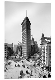 Acrylglasbild  New York City 1920, Flatiron Building - Sascha Kilmer