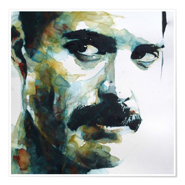 Poster  Freddie Mercury - Paul Paul Lovering Arts