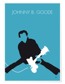 Premium-Poster Chuck Berry - Johnny B. Goode