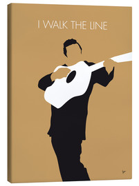 Leinwandbild  Johnny Cash - I Walk The Line - chungkong