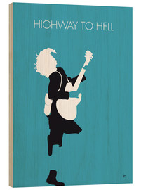 Holzbild  AC/DC - Highway To Hell - chungkong