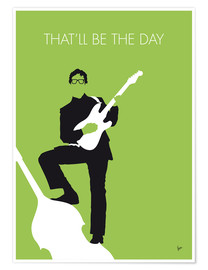Premium-Poster Buddy Holly - That'll Be The Day