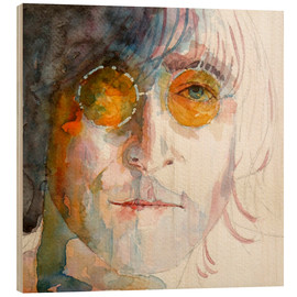 Holzbild  John Winston Lennon - Paul Lovering Arts
