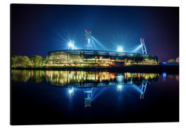 Alubild  Bremer Stadion - Tanja Arnold Photography
