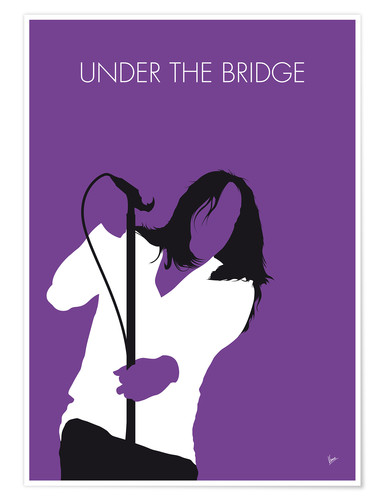 Premium-Poster Red Hot Chilli Peppers - Under The Bridge