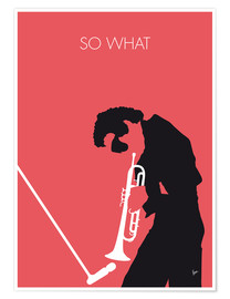 Premium-Poster  Miles Davis - So What - chungkong