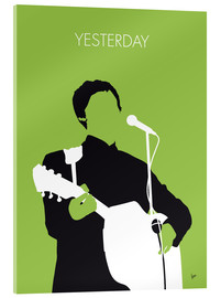 Acrylglasbild  MY PAUL MCCARTNEY Minimal Music poster - chungkong