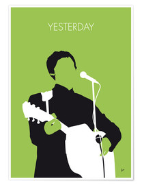 Poster  MY PAUL MCCARTNEY Minimal Music poster - chungkong