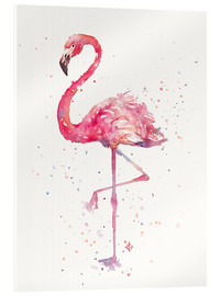 Acrylglas  A Flamingos Fancy - Sillier Than Sally