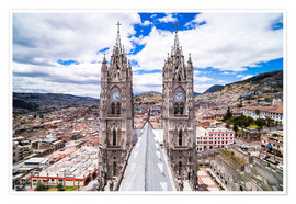 Premium-Poster  Altstadt von Quito - Matthew Williams-Ellis