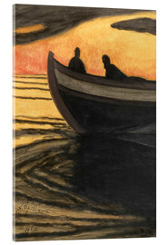 Acrylglasbild  Marine-Orange - Léon Spilliaert