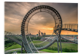 Acrylglasbild  Tiger & Turtle Duisburg Magic Mountain - Dennis Stracke