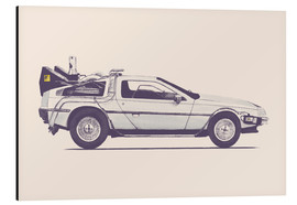 Alubild  Delorean - Florent Bodart