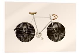 Acrylglasbild  Licorice Bike - Florent Bodart