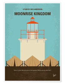 Poster  No760 My Moonrise Kingdom minimal movie poster - chungkong