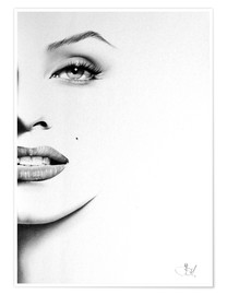 Poster  Marilyn Monroe - Ileana Hunter