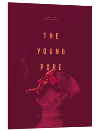 Hartschaumbild  Young Pope - Fourteenlab