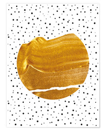 Poster  Stay Gold - Uma 83 Oranges