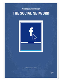 Premium-Poster The Social Network