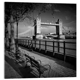 Acrylglasbild  LONDON Tower Bridge - Melanie Viola