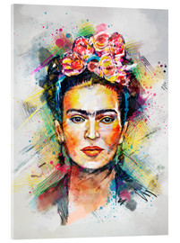 Acrylglasbild  Frida Flower Pop - Tracie Andrews