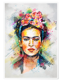 Poster  Frida Kahlo - Tracie Andrews