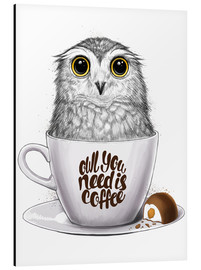 Alubild  Owl you need is coffee - Nikita Korenkov