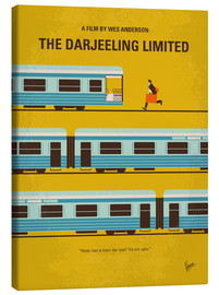 Leinwandbild  No800 My The Darjeeling Limited minimal movie poster - chungkong
