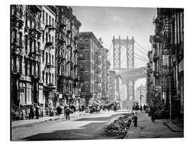 Alubild  Historisches New York: Pike and Henry Streets, Manhattan - Christian Müringer