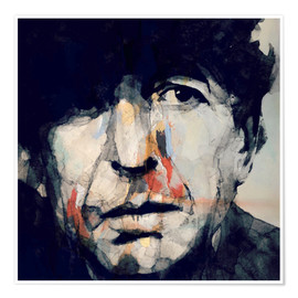 Premium-Poster Leonard Cohen   Hey That's No Way To Say Goodbye