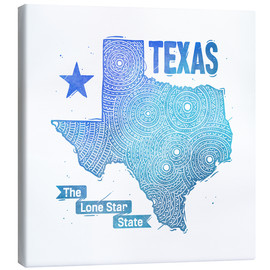 Leinwandbild  texas - Stephanie Wittenburg