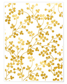 Poster Golden Vines