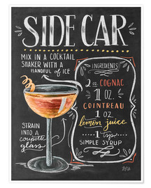 Poster  sidecar - Lily & Val